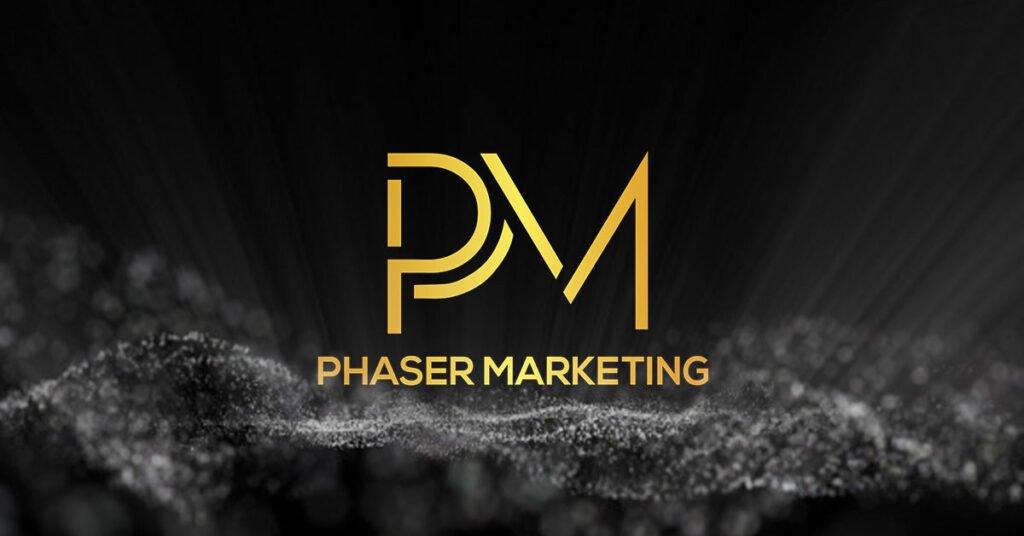 Glowing PM logo