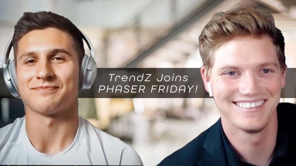 Jimmy Slagle at Trend Z and Luke Eggebraaten of Phaser Marketing take on Phaser Friday Episode 4