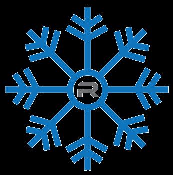 Rapid Outdoor Services Snowflake Logo